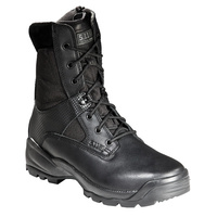 5.11 Tactical A.T.A.C. 8inch Side Zip Boot - Black - 9.5 US Wide