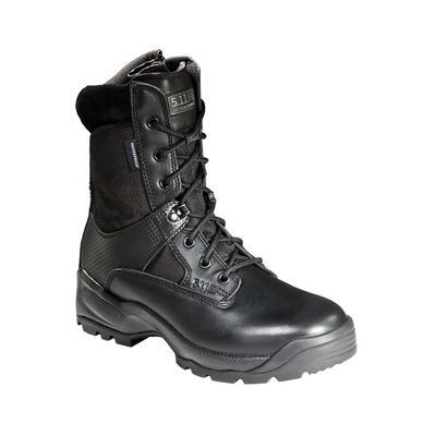 5.11 Tactical ATAC 8 Inches Storm Boot with Side Zip - Black - 8.5 US Wide