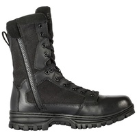 5.11 Tactical Evo 8 Inches Side Zip Boot - Black - 11.0 US