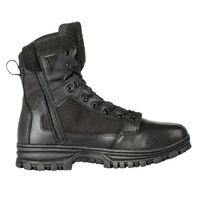 5.11 Tactical Evo 6 Inches Side Zip Boot - Black - 7.0 US