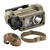 Streamlight Sidewinder Compact II Military Model with Helmet Mount & Strap. Clam Packaged