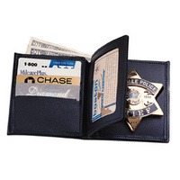 BADGE WALLET W/T 3 CC SLOTS