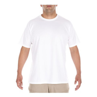 5.11 Tactical Loose Fit Crew Shirt - White - Medium
