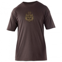 5.11 Tactical Owl T-Shirt - Chocolate - 2X Large