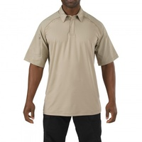 5.11 Tactical Rapid Performance Polo - Silver Tan - Small