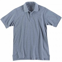 5.11 Tactical Professional Short Sleeve Polo - Heather Grey - Extra Small