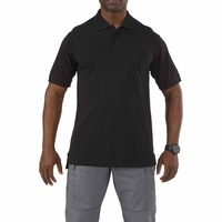 5.11 Tactical Professional Short Sleeve Polo - Black - Medium