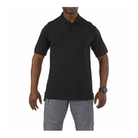 5.11 Tactical Professional Short Sleeve Polo - Black - Extra Small