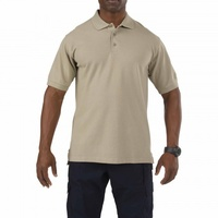 5.11 Tactical Professional Short Sleeve Polo - Silver Tan - Large