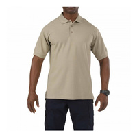 5.11 Tactical Professional Short Sleeve Polo - Silver Tan - Extra Small