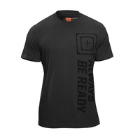 5.11 Tactical Recon Abr Logo T Short Sleeve - Gunsmoke