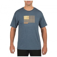 5.11 Tactical Recon Rope Ready T-Shirt - Navy Heather - Extra Large