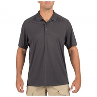 5.11 Tactical Helios Polo Short Sleeve - Charcoal - 2X Large