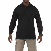 5.11 Tactical Long Sleeve Professional Polo - Black - Small