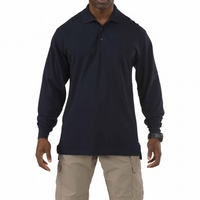 5.11 Tactical Long Sleeve Professional Polo - Dark Navy - Large