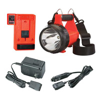 Streamlight Fire Vulcan LED Standard System 120V AC/12V DC - Orange