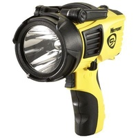 Streamlight Waypoint - Alkaline Pistol Grip Spotlight- Yellow with 12 Volt DC Charger