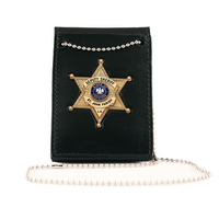 Boston Leather - NECK CHAIN-POCKET-BELT BADGE