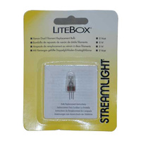 Streamlight 8 Watt Dual Filament Bulb (LiteBox, Vulcan)