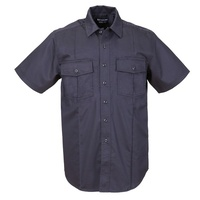 5.11 Tactical Men's Short Sleeve Station Shirt A Class - Fire Navy - Extra Large