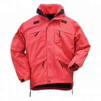 5.11 Tactical 3 in 1 Parka Jacket - Range Red - Large
