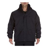 5.11 Tactical 3 in 1 Parka Jacket - Dark Navy - 2X-Large