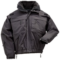 5.11 Tactical 5-In-1 Jacket - Black - Extra Large