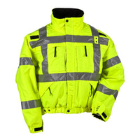 5.11 Tactical Reversible High Visibility Jacket - High-Vis Yellow - 4X Large