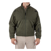 5.11 Tactical Fleece Jacket - Sheriff Green - 2X Large