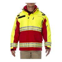 5.11 Tactical Responder High-Visibility Parka - Range Red - 3X Large
