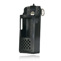 Boston Leather - FIREMENS RADIO HOLDER FOR EF JOHNSON
