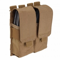 5.11 Tactical Stacked Double Mag Pouch w/ Cover - Flat Dark Earth