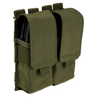 5.11 Tactical Stacked Double Mag Pouch w/ Cover - Tac OD