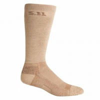 5.11 Tactical 9 Inch Level 1 Socks - Coyote - Large