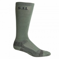 5.11 Tactical 9 Inch Level 1 Socks - Foliage - Large