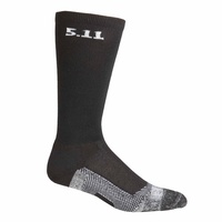 5.11 Tactical 9 Inch Level 1 Socks - Black - Large