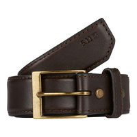 5.11 Tactical Plain Casual Belt 1.5in Wide - Brown - Small