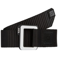 5.11 Tactical Traverse Double Buckle Belt - Black - Extra Large