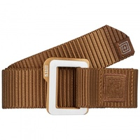 5.11 Tactical Traverse Double Buckle Belt - Battle Brown - Medium