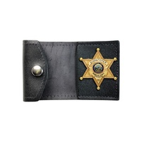 Boston Leather - SMALL TRI-FOLD, NON RECESSED