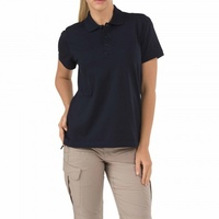5.11 Tactical WoMen's Short Sleeve Tactical Polo - Dark Navy - Large