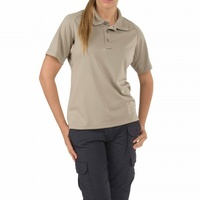5.11 Tactical WoMen's Performance Polo - Silver Tan - Small