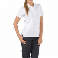 5.11 Tactical Women s Short Sleeve Professional Polo New Fit - White - Large