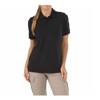 5.11 Tactical Women s Short Sleeve Professional Polo New Fit - Black - Large