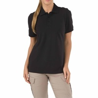 5.11 Tactical Women s Short Sleeve Professional Polo New Fit - Black - Extra Large