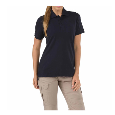 5.11 Tactical Women s Short Sleeve Professional Polo New Fit - Dark Navy - Medium