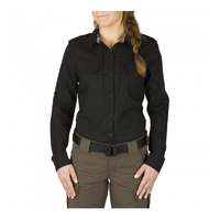 5.11 Tactical Women's Spitfire Shooting Shirt - Black - Large