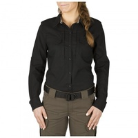 5.11 Tactical Women's Spitfire Shooting Shirt - Black - Small