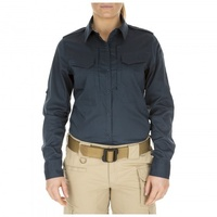 5.11 Tactical Women's Spitfire Shooting Shirt - Maritime - Small