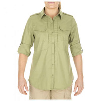 5.11 Tactical Women's Spitfire Shooting Shirt - Mosstone - Large